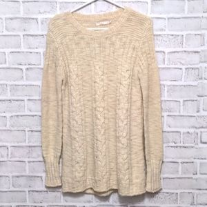Prana Scoop Neck Knit Sweater Size Medium